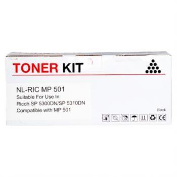 Tóner Print-Rite MP501 NV9 25K Color Negro