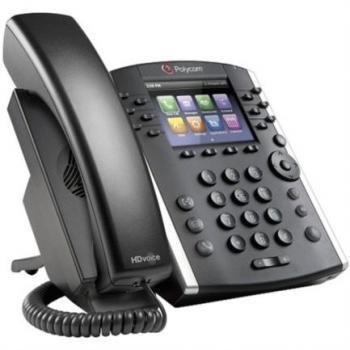 Telefono Polycom VVX 401 12 Lineas para Skype