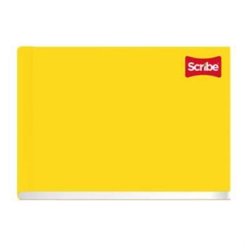 Cuaderno Cosido Italiano Scribe Raya 100 Hojas c/36