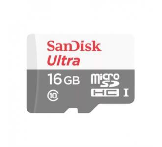 Memoria MicroSD SanDisk Ultra MicroSDHC SDXC 64 GB Clase 10 UHS-I C/Adaptador
