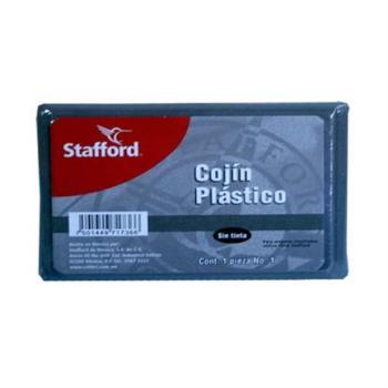COJIN P/SELLOS STAFFORD #1 PLASTICO S/TINTA 11X7 CMS