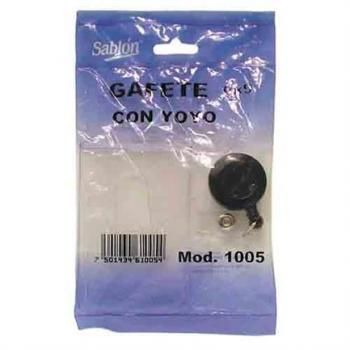 PORTA GAFETE SABLON C/YOYO 6X9 CMS