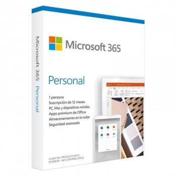 MICROSOFT 365 PERSONAL 32/64 BITS 1YR 1USR SPANISH (QQ2-01053)