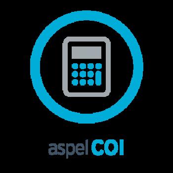 ASPEL COI 9.0-SISTEMA CONTABILIDAD INTEGRAL 1 USR 99 EMPRESAS(COI1M)