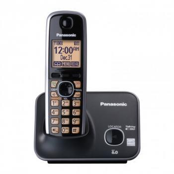 TELÉFONO ANALÓGICO PANASONIC KX-TG4111MEB CON PANTALLA LCD DE 1.8