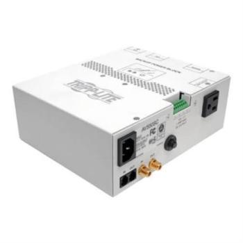 Bloque de Potencia Tripp Lite Respaldo Audio/Video 550VA Protección Exclusiva UPS Gabinete con Cableado Estructurado