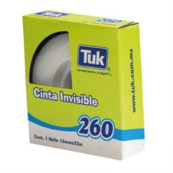 Cinta Tuk Invisible 260 0.012x33m c/54