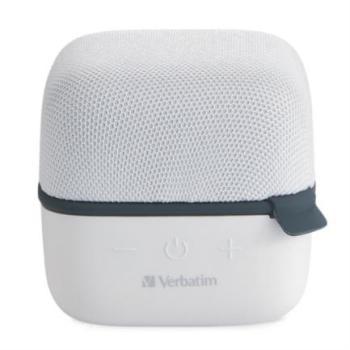 Bocina Verbatim Cube Inalámbrica Bluetooth Color Blanco