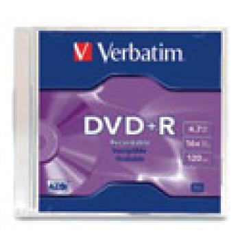 DVD+R VERBATIM 4.7GB 16X SINGLE S/C
