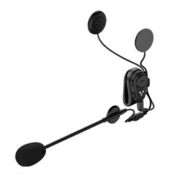 Manos Libres Vorago BTM-300 Bluetooth Montaje para Motocicleta Color Negro