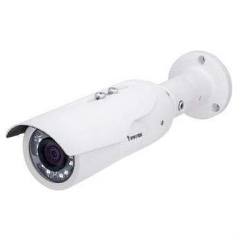 Camara IP Vivotek IB8379H Bullet Exterior 4MP Smart Ir 30m WDR Pro Lente Fijo 3.6mm Smart Stream II IP66 IK10 3DNR ONVIF