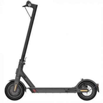 Patín Eléctrico Xiaomi Mi Scooter 1S Largo Alcance de 30 Km Velocidad Máxima 25 Km/h Color Negro