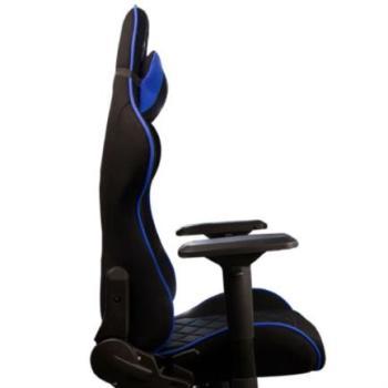 Silla Gamer Stylos XZ25 Tela/Brazos 4D Soporte Lumbar Color Azul