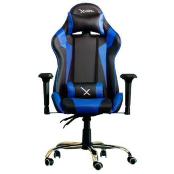 Silla Gamer Stylos Xzeal X10 Reposabrazos 4D Color Azul