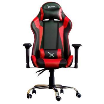 Silla Gamer Stylos Xzeal X10 Reposabrazos 4D Color Rojo