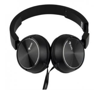 Audífonos Stylos Alámbricos Ergonómico Manos Libres 3.5mm Color Negro