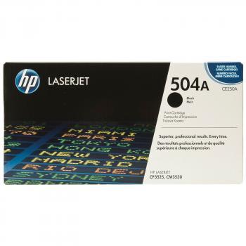 TONER  HP 504A NEGRO LASERJET CP3525/CM3530 (CE250A)